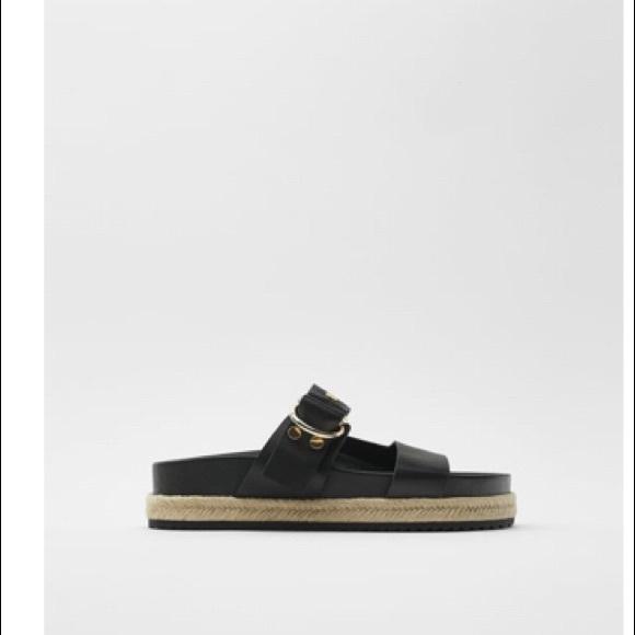 Like new Zara leather sandals